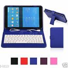 "Keyboard Leather Case Cover For 7.85"" NuVision TM785M3 Android Tablet MDHW"