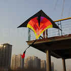 HOT 2.8M Diamond Delta Sport Kite Single Line Control Kids Gift Games Outdoor