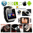 NEW Bluetooth DZ09 Smart Watch For iPhone Samsung HTC LG Android W/ Camera SIM