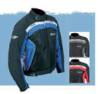 Weise Air Spin Mens Textile Motorcycle Jacket Black / Blue / Red New RRP £119.99