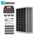 Renogy Solar Panel 400 Watt Starter Kit 12V RV Boat 100W Mono Off Grid System