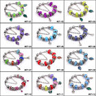 Hot Fashion European Style Charm Crystal Murao Glass Bracelet for friend #071