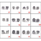 European Charms Alloy Beads For Bracelets & Bangle DIY Jewelry Accessories