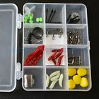 12 Component Fishing Accessories Combination Suit Storage Box Portable Soft Worm