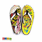 Infrafigo Mod. POP ART 37 38 39 40 41Infradito Tongs Flip Flop Idea Regalo donna