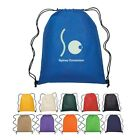 100 Drawstring Backpacks in bulk Item 3074 Non Personalized