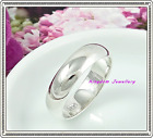 925 Sterling Silver Engagement 5mm  Wedding Band