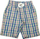 Carter's Playwear Size 3T Shorts, Blue & Pink Plaid