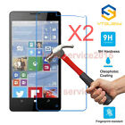 2Pcs 9H+ Tempered Glass Screen Protector For Microsoft Nokia Lumia 950 950XL