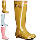 Womens Hunter Original Tall Gloss Winter Snow Rain Waterproof Wellingtons UK 3-9