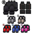Rubber Floor Mats & Speed Seat Covers Black Steering Universal set for Dodge $89.95 USD on eBay