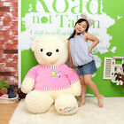 "Toto Bear 55"" Giant Plush Doll Rag Jumbo Korean Women Genuine Dolly Toy 1ea"
