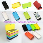 10000mAh External Battery Backup Charger Case Flip for iPhone 5 5s 5c 6 s 6 plus