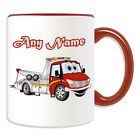 Personalised Gift Tow Truck Mug Money Box Breakdown Road Recovery AA Driver Cup
