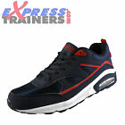 Airtech Mens Legacy Classic Casual Retro Running Shoes Trainers Navy *AUTHENTIC*