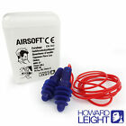 Reusable HOWARD LEIGHT by Honeywell  Earplugs - Airsoft Corded Silicon Ear plugs