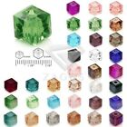 100pcs DIY Cube 5601 Swaroski Spacer Crystal Beads fit Jewelry Making SFCR0355