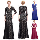 Starzz Womens NEW Lace Formal Party Bridesmaid Evening Long Prom Dress Plus Size