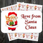 21 Christmas Gift Sticky Labels/Stickers/Tags - Love From Father Christmas/ #ack