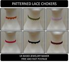 Floral Bohemian Ladies Lace Chokers Handmade to Order