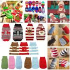 Winter Dog Pet Warm Jumper Knit Sweater Clothes Puppy Knitwear Costume Apparel