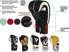 RDX Boxing Gloves Muay MMA Sparring Punching Bag Thai Kickboxing Training Mitts