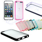 Hot Sell Plain Hard Silicone Matte Back Case for Apple iPod Touch 5 Touch 6 Skin