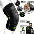 RDX Elbow Brace Support Grip Elastic Forearm Compression Gym Sleeve Relief Strap