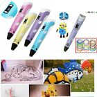 3D Drawing Pen V2.0 With LED Free Filament For Children Printing Drawing Doodler