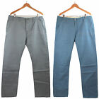 NWT Levi's Men Chino Evening Blue/Gray Regular Fit Twill Pants LEVIS 100% Cotton