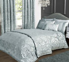 Charleston Duck Egg Blue Jacquard Bed Linen Collection (Items sold separately)