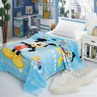 Frozen Minions Super Soft Single Size MINK Blankets Throw Rug Thin Bed Linen