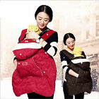 Coldproof Winter Baby Carrier Windproof Cloak Cape Cover Warm Hooded Outwear New