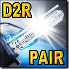 For Lexus LS400 1998 - 2000 Xenon HID Headlight Replacement Bulbs Low Beam D2R