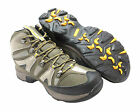 Hi Tec 'Condor WP'Olive/Warm Grey/Gold Lace Up WATERPROOF Walking Boots UK 16