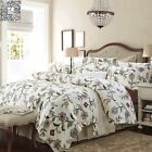 Floral Queen/King Size Bed Linen Quilt/Doona Covers Set  New Long-Staple Cotton