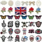 Embroidered Iron / Sew On Patch Clothes Bag T-Shirt Jeans Biker Badge Applique