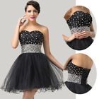 Nifty Dance Party Short Cocktail Formal Dress Bridesmaid Evening Prom Gown Dress