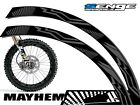 MAYHEM DIRT BIKE RIM PROTECTORS CHOOSE YOUR SIZE DIRTBIKE DECALS STICKERS DECO