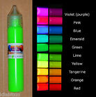 Paint Pen Fluorescent Ultraviolet Blacklight UV Reactive glowing. 30ml