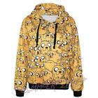Adventure Time with Finn Casual Long Sleeve Unisex Hoodies Sweatshirt Jacket Top