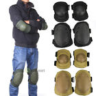 4 Knee Elbow Protective Pad Protector Gear Sports Tactical Unisex Protection
