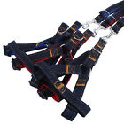 Training Dog Pet Puppy Cat Adjustable Denim Harness Lead leash Traction Rope