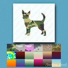 Chihuahua Dog - Vinyl Decal Sticker - Multiple Patterns & Sizes - ebn1934