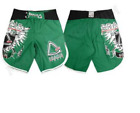 Gracie Sports Eagle MMA Shorts - Green