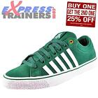 K Swiss Mens Adcourt LA Casual Classic Suede Retro Trainers Forest AUTHENTIC