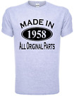 60th Birthday Made in 1956 Mens Gift Unisex T-Shirt  Size S-XXL