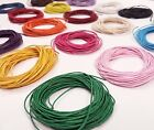 Wax Cotton Cord Offcuts, 1mm/2mm 10 Metres of Various Colours, Shambella, Cord,
