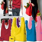 BAGGU NYLON WATERPROOF CARRIER REUSABLE FOLDABLE SHOPPING GROCERY TOTE BEACH BAG