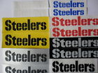 "PITTSBURGH STEELERS 6"" /4.5""/3"" Vinyl decal weather proof 2 stickers many colors on eBay"